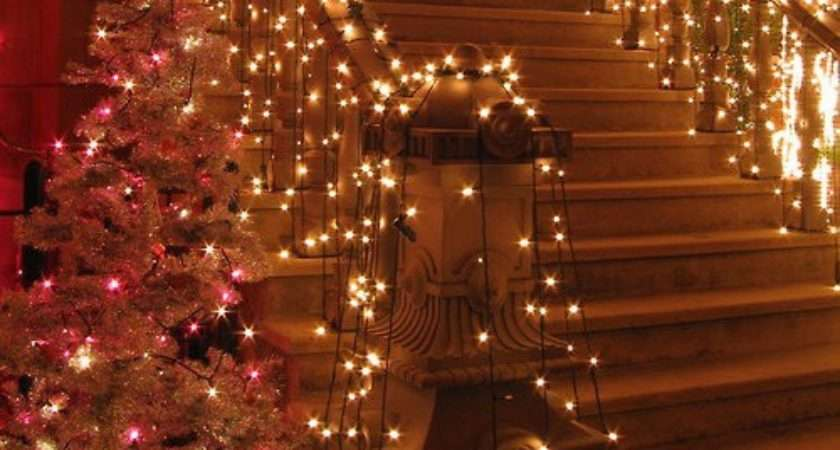 Abby Manchesky Interiors Christmas Decorating Stairs