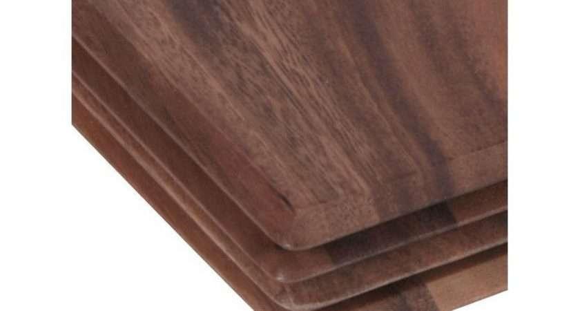 Acacia Wood Mats Table Wooden
