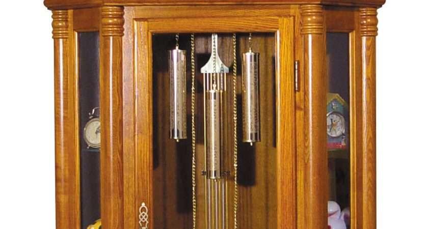 Acme Furniture Grandfather Clocks Oak Finish