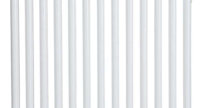 Acova Column Horizontal Radiator White