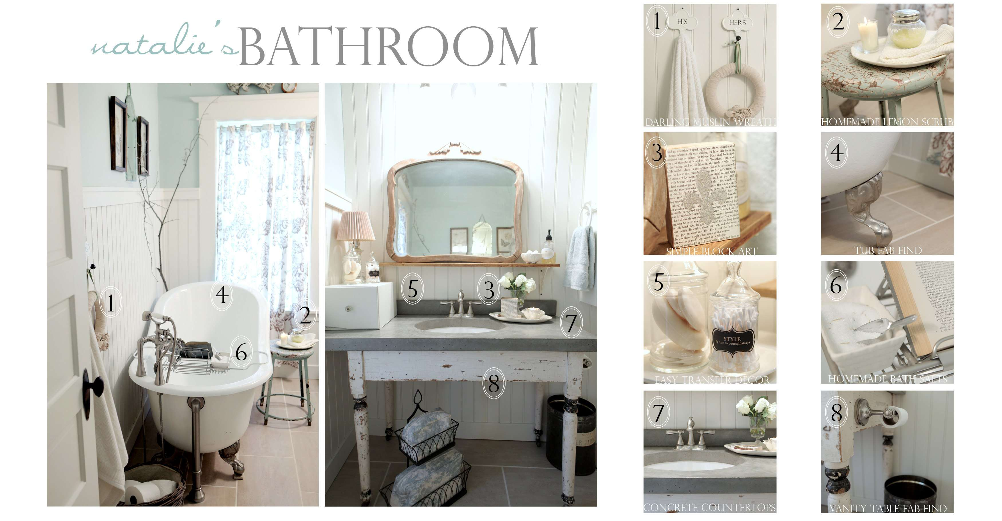 Add Glamour Small Vintage Bathroom Ideas