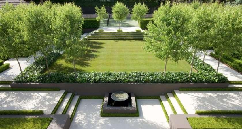 Add Modern Elements Your Landscape Design