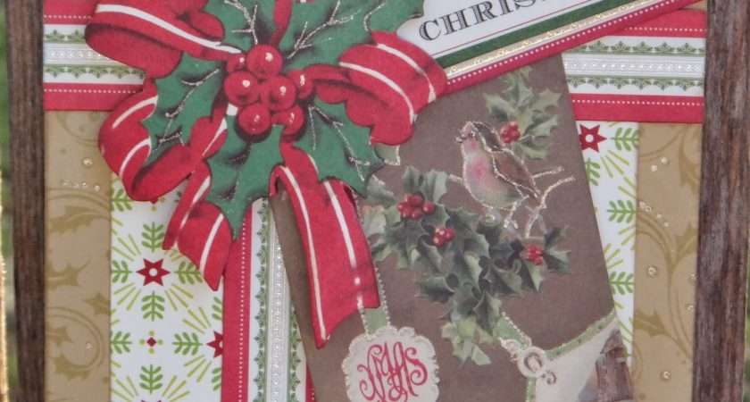 Adventures Papercrafting Anna Griffin Holiday Trimmings