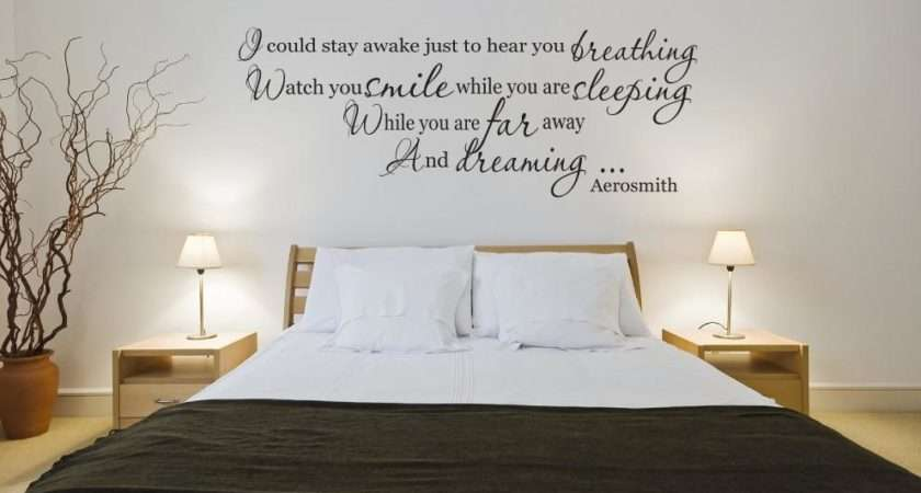 Aerosmith Breathing Song Lyrics Wall Art Vinyl Decal Sticker