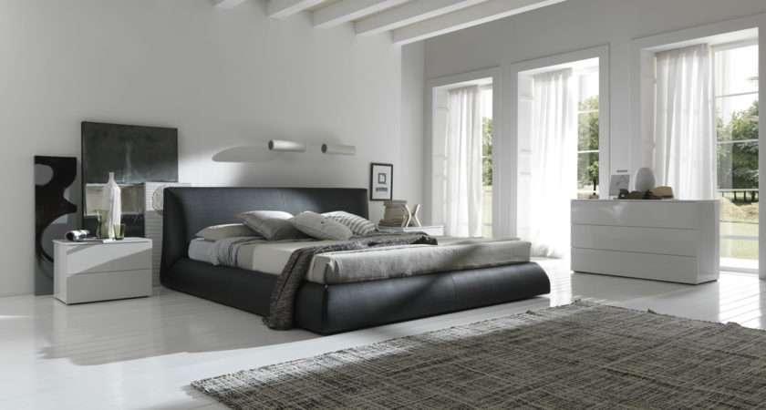 After Beautiful Modern Bedroom Comfortable Black