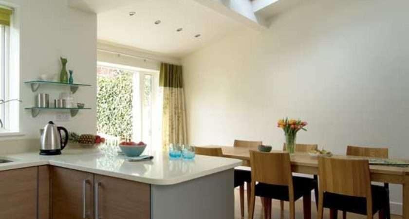 Airy Kitchen Diner Design Decorating Ideas