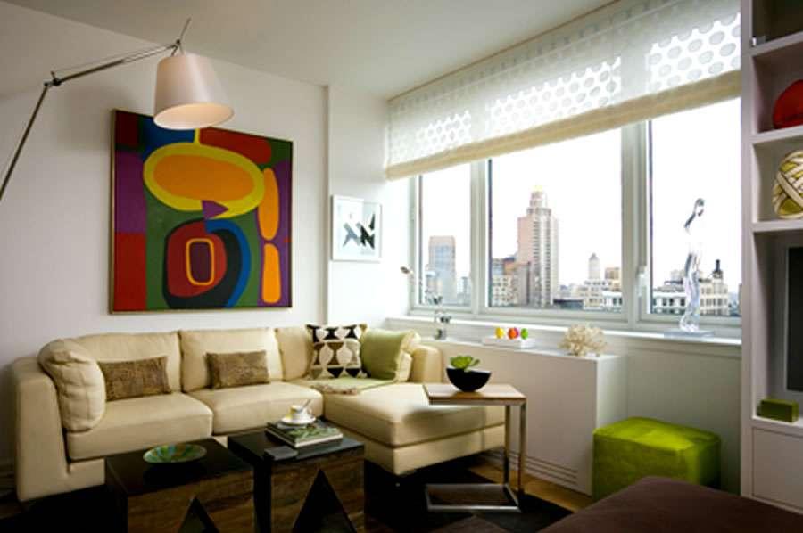 Alcove Studio Living Room Interior Design Chelsea Landmark Residential