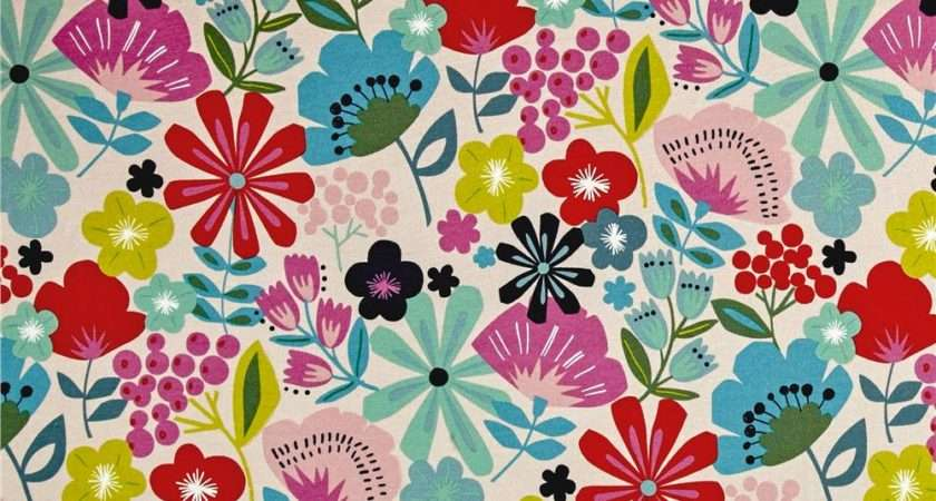 Alexander Henry Jersey Knit Pretty Poppy Linen Discount