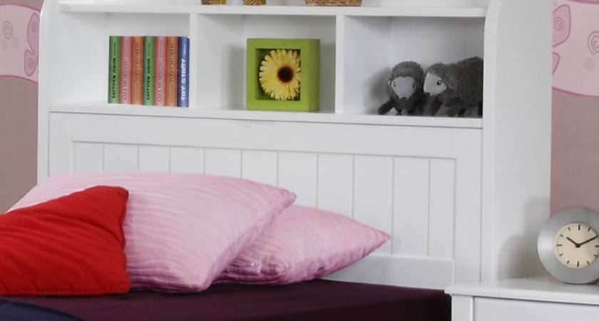 Alexia Children White Storage Bed