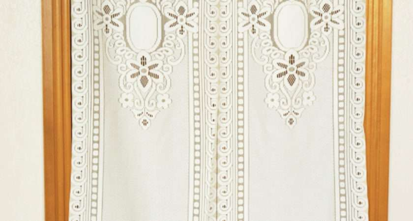 Aliexpress Buy French Lace Curtains White Cafe