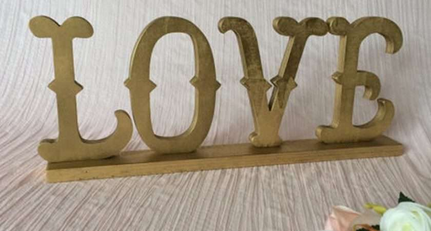 Aliexpress Buy Home Decor Love Sign Made Wood