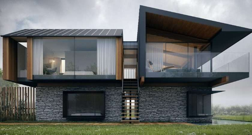 Also Modern Glass House Extension Contemporary Designs