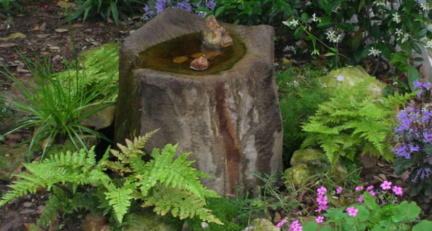 Although Container Water Features Quite Small They Still Need
