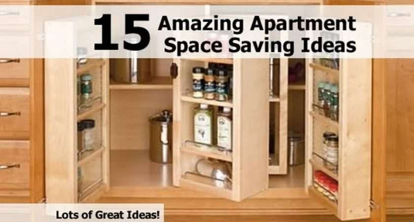 Amazing Apartment Space Saving Ideas