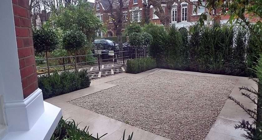 Amazing Best Yew Trees Balham Clapham Front Garden Des