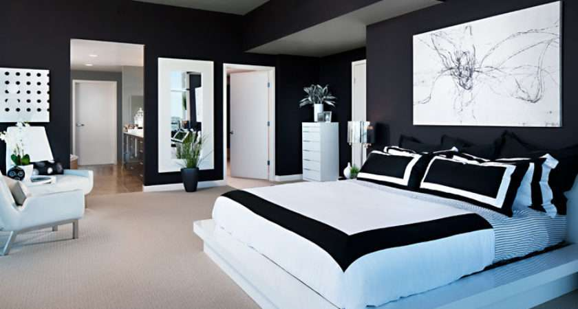 Amazing Black White Bedrooms Decoholic