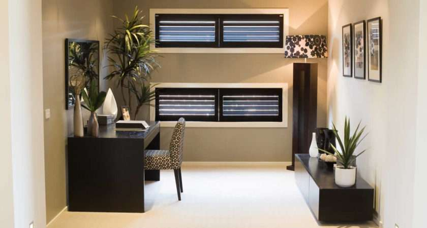 Amazing Cool Small Office Den Decorating Ideas