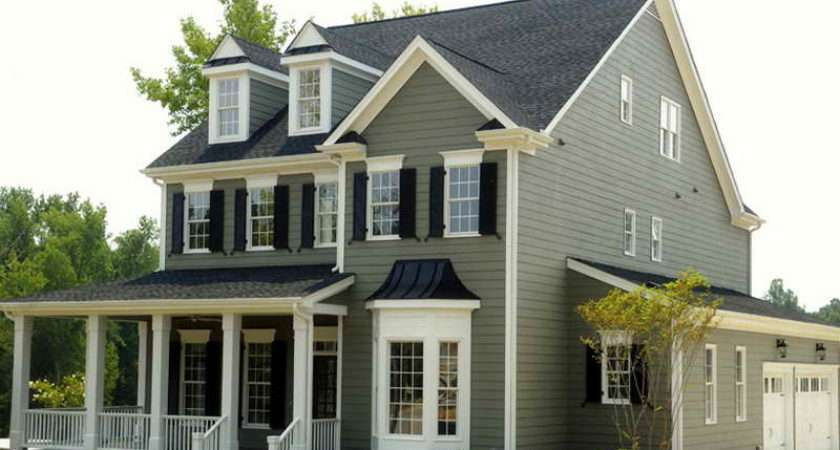 Amazing Gray Exterior House Paint Color Jpeg
