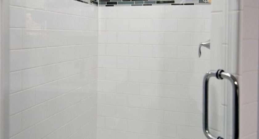 Amazing Ideas Contemporary Shower Tile Design