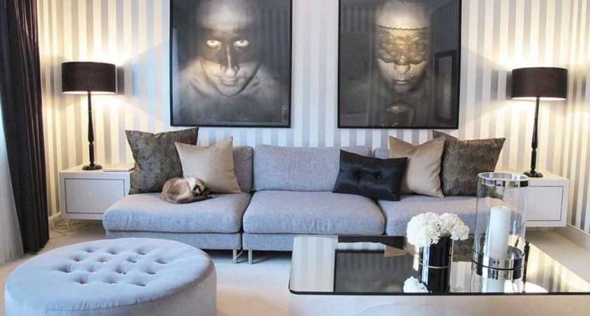 Amazing Masculine Living Room Grey Brown Ideas
