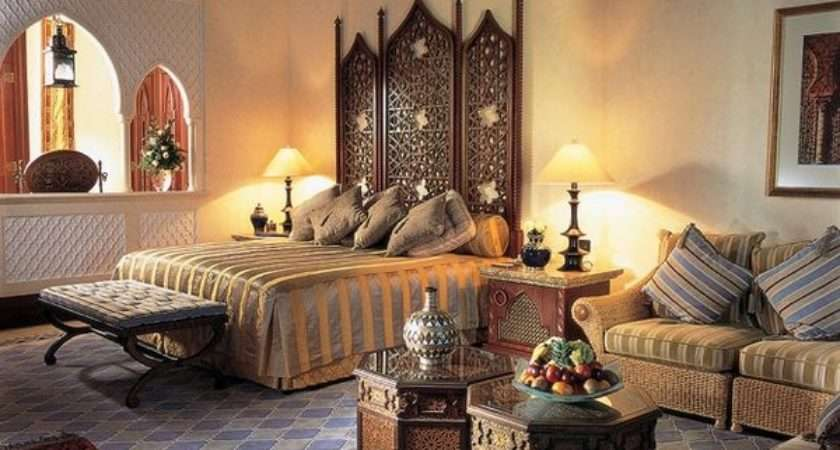 Amazing Moroccan Bedroom Ideas Bold Colors Ornate