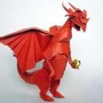 Amazing Origami Dragons Epic Fail Webcomic Funny Fantasy