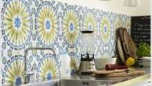Amazing Retro Kitchen Tiles Designs