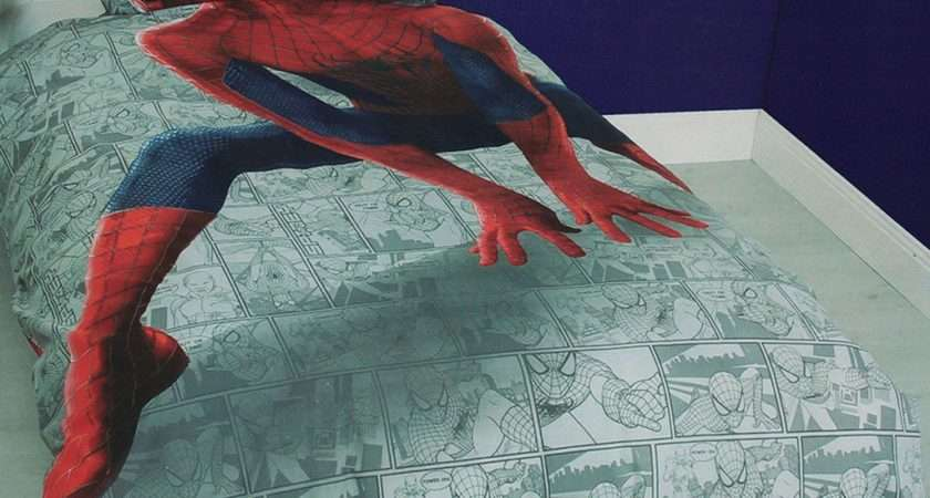 Amazing Spider Man Quilt Cover Set Kids Bedding Dreams