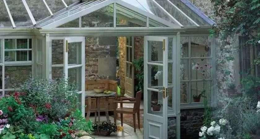 Amdega Conservatory Garden Features Pinterest