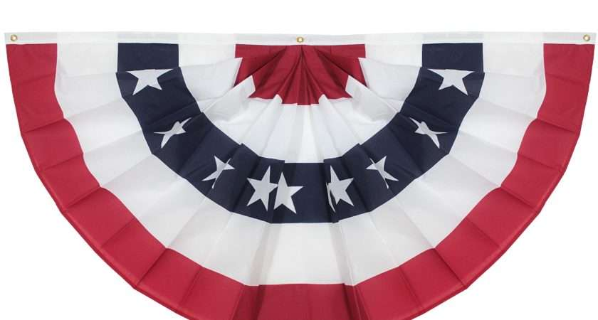 American Flag Bunting Printable Flags