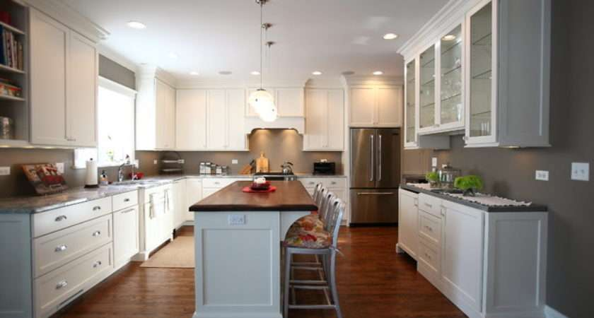 American Four Square Style Home Renovation Traditional