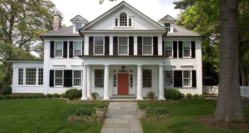 American Iconic Colonial Design Style Started Original New