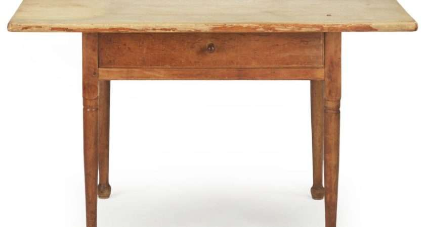 American Scrubbed Pine Antique Farm Table Century
