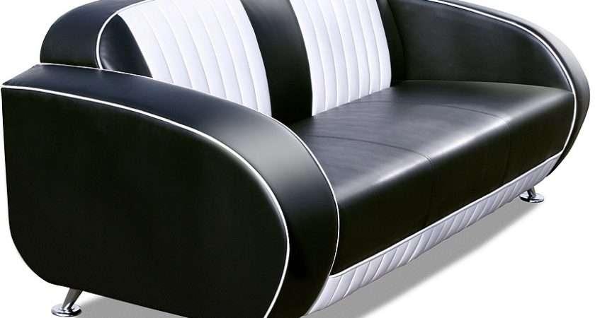 American Style Retro Sofa Furniture Igh Back