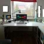 Amon Desk Fit Office Perfectly Ikea Hackers