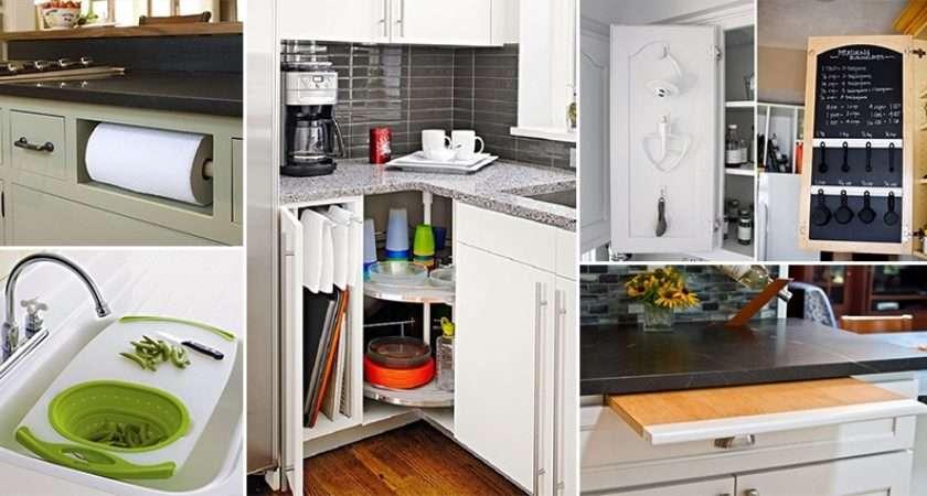Amusing Kitchen Space Saving Ideas Creative Home