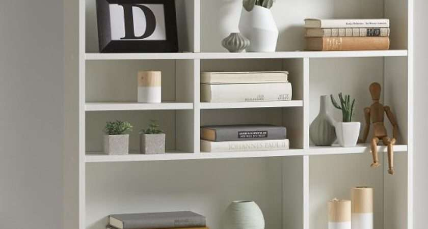 Andreas Wall Mounted Shelving Unit White Furniture