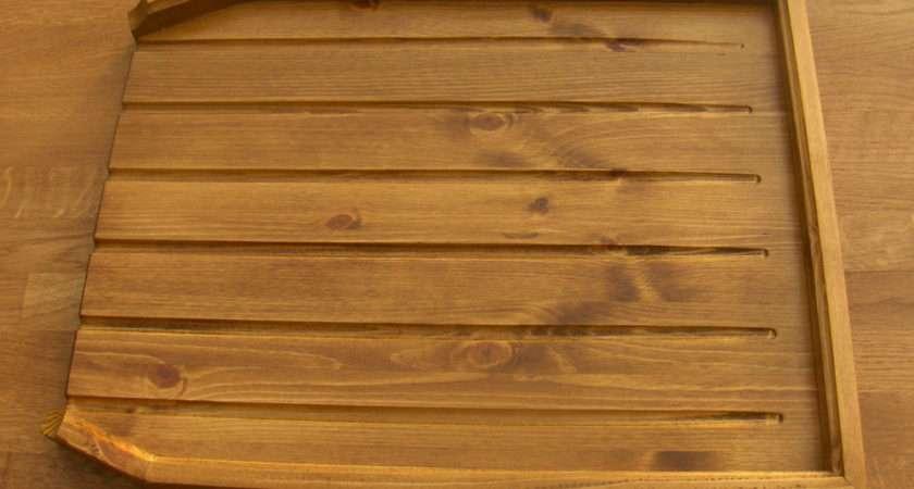 Angled Draining Board Belfast Sink Butler Drainer Med Ebay