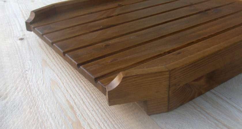 Angled Large Draining Board Belfast Sink Butler Drainer Med Ebay