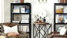 Animal Print Chairs Living Room Leopard
