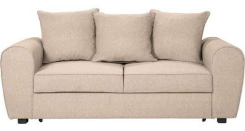 Anne Fabric Sofa Bed Natural Homebase Inspired