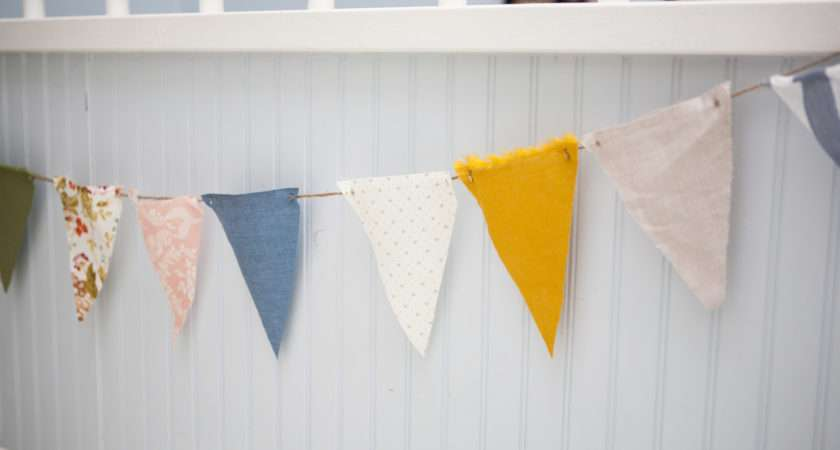 Another Way Can Display Bunting Banner