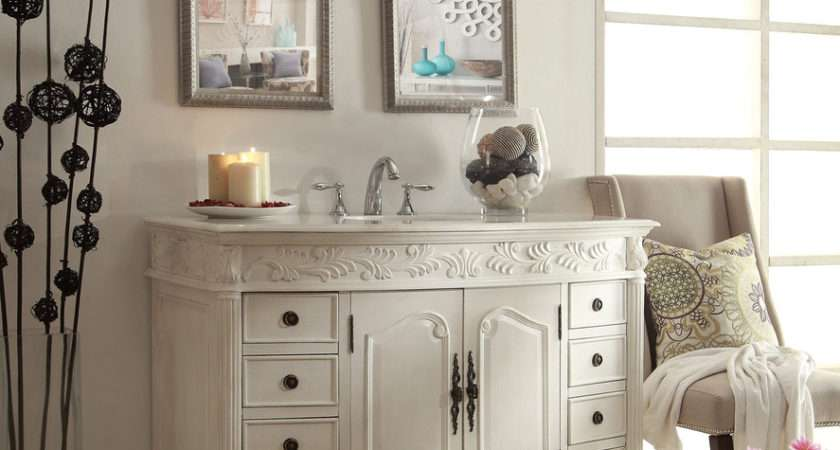 Antique Bathroom Vanities Decorating Ideas