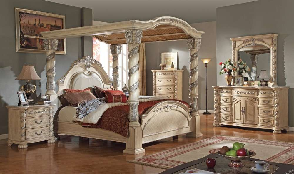 Antique Bedroom Set Vintage Furniture