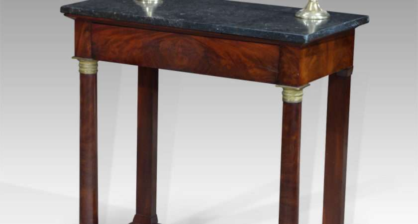 Antique Console Table Small Georgian