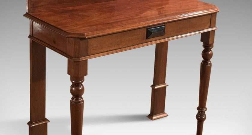 Antique Console Table Victorian Scottish Hall