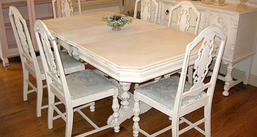 Antique Dining Room Tables Chairs