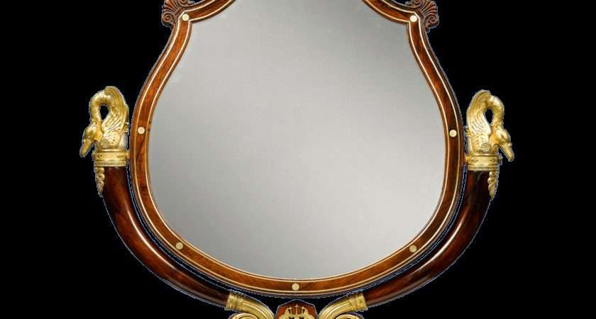 Antique Furniture Double Sided Mirror Dressing