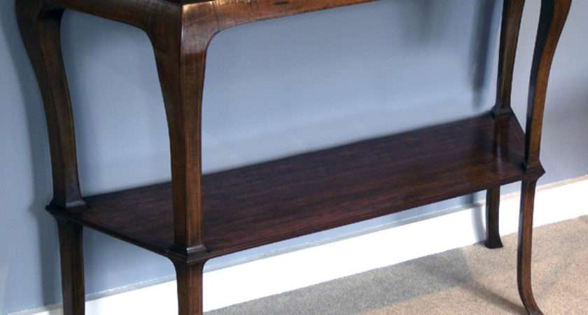 Antique Hall Table Marble Console Tables