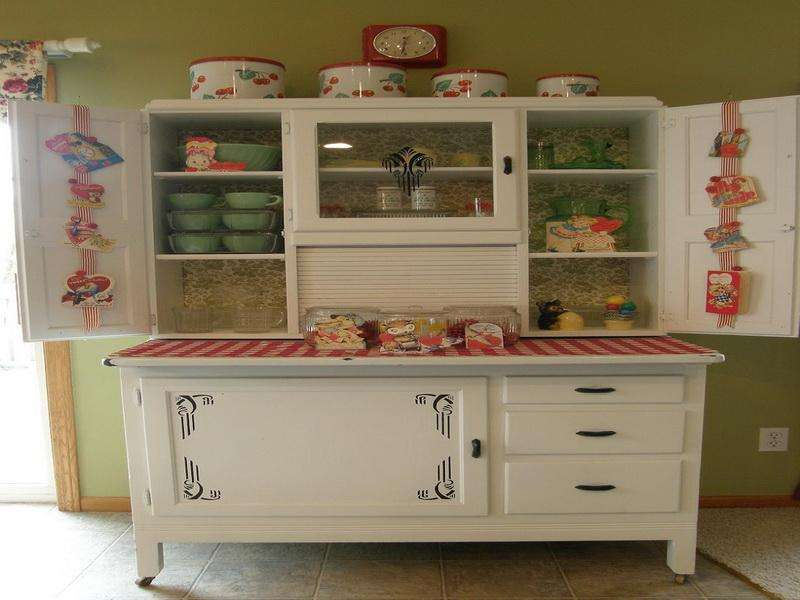 Antique Kitchen Cabinet Low Cost Interior